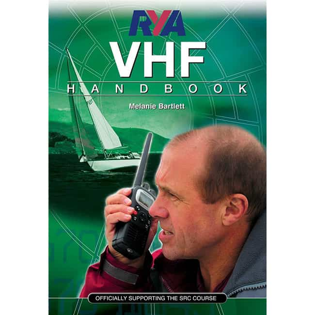 VHF handbook included with course