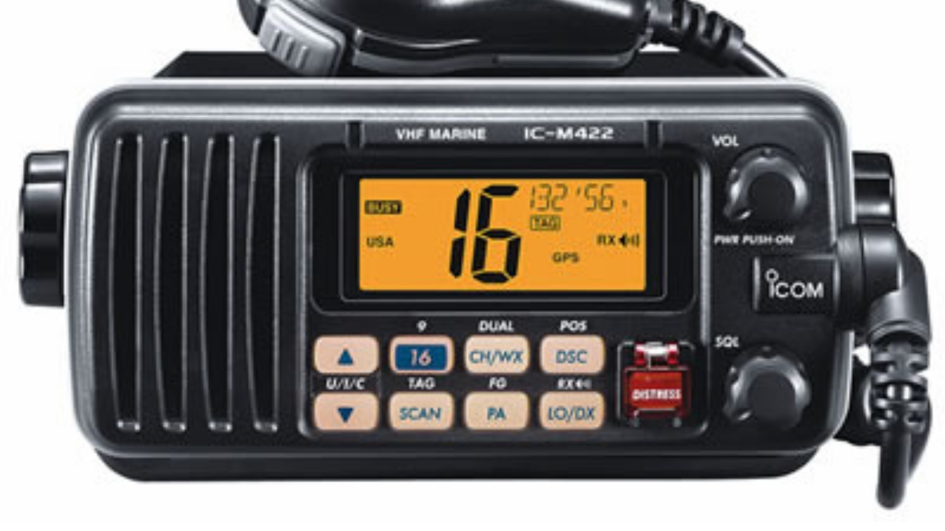 ICOM VHF radio set