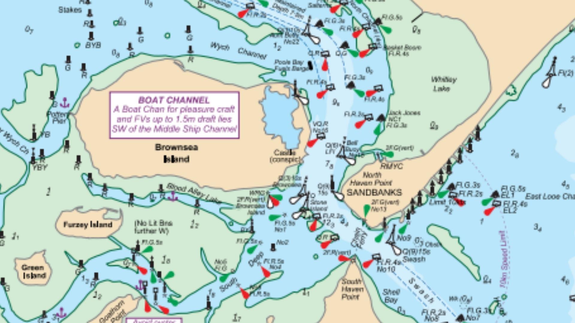 Essential Navigation chart image