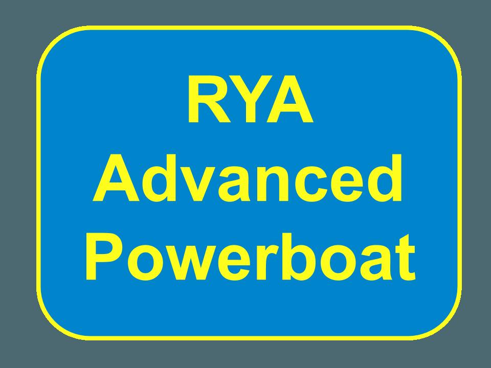 RYA Advanced Powerboat