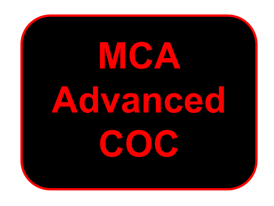 Advanced certificate of competence
