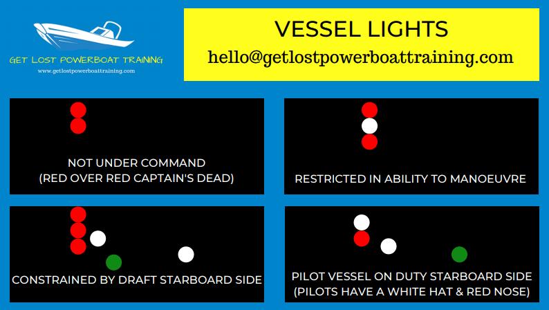 Vessel lights cheat sheet